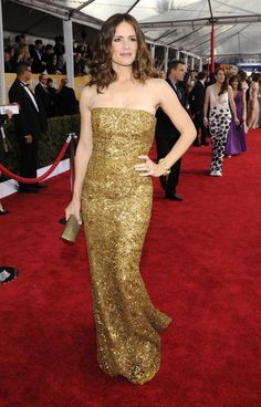SAG Awards 2013 Red Carpet: Jennifer Garner in Oscar de la Renta