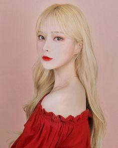 Korean Beauty Girls, Cute Korean Girl, Asian Girl, Girls In Love, Cute Girls, Kpop Hair Color, Amy, Face Swaps, Digital Art Girl