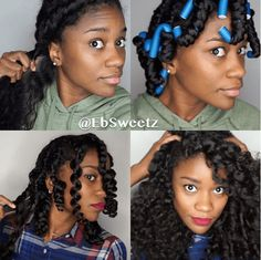 This Stunning Twist Out Using Flexi Rods will leave you with gorgeous curl definition
