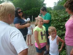 Binder Park Zoo Terri, Michell, Toni, Leah, Logan Emily, Deb