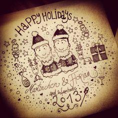 Happy Holidays 2012 Notes For Friends, Happy Holidays, Happy Holi