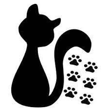 Resultado de imagem para modelo de gatinho para enfeite de colherzinha