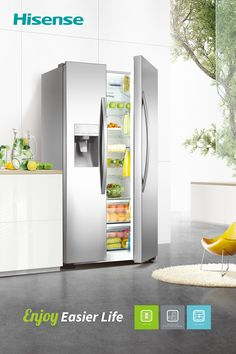 En IFA 2016, Hisense presentará más de 20 frigoríficos y nuevos congeladores, destacando su ambición de crecimiento en este segmento del mercado con una amplia gama de productos.  Los modelos a precios competitivos – entre estos los modelos combi, multi door y versiones side-by-side – ofrecen una alta eficiencia energética (A+++ o A++), de primera calidad, un diseño atractivo y numerosas funciones útiles.