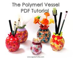 Polymer Clay Tutorial The Beads Mania learn to by sigalsart