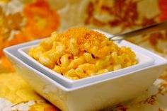 Good ole mac and cheese!