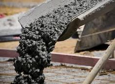 Concrete is a ceramic composite made up of water, sand, gravel, crushed stone, and cement. The ingredients are mixed together thoroughly, and are poured into a form. After the concrete is completely dry, it has excellent compressive strength.