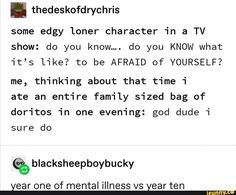 I'm on year two and a mix of the two. I like to jump between them and yell parkour. My Tumblr, Tumblr Posts, Tumblr Funny, Stupid Funny, The Funny, Hilarious, Funny Stuff, Random Stuff, Funny Things