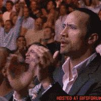 My reaction when Roman was talking about his Samoan blood and beating Brock Lesnar.
