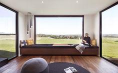 Contemporary Living Room by Prebuilt
