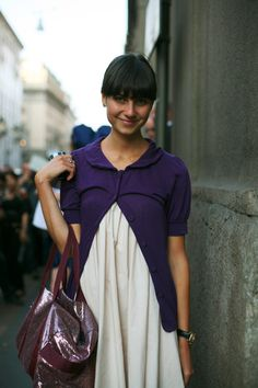 On The Street……At Burberry, Milan « The Sartorialist
