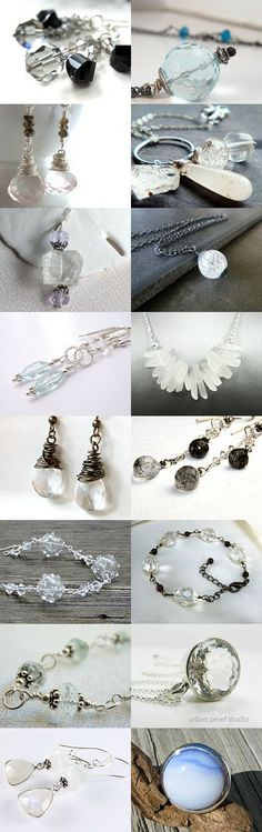 Ice Age by Carolyn Jankovskis on Etsy--Pinned with TreasuryPin.com #jewelryonetsy #jetteam #artisanbot