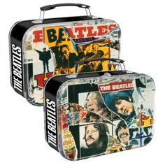 Show details for Beatles Lunch Box: The Beatles Anthology Large Rectangular Tin Tote