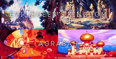 Some Disney movies and their settings