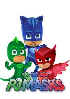 PJ Masks Wall Decals by KookyKustom on Etsy Disney Jr, Disney Junior, 4th Birthday Parties, 3rd Birthday, Pj Masks Images, Frog Box, Pj Max, Pj Masks Printable, Pjmask Party