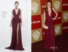 Miranda Kerr In Zuhair Murad – Warner Bros. And InStyle Golden Globe Awards After Party