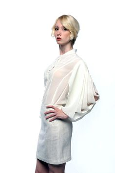 One of older designs from the winter of 2011. Still one of my favorites.  www.facebook.com/michellehebertfashion