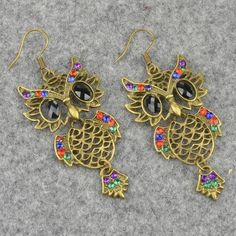 Owl Earrings ! Love