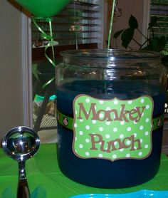 Polka Dot Birthday Supplies, Decor, Clothing: Carter's Polka Dot Monkey Party