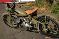 1943 Indian Motorcycle WWII Edition