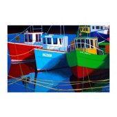 Moored Boats Framed Art Prints, Fine Art Prints, Artist, Fun, Travel, Boats, Paintings, Viajes, Ships