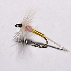 YELLOW TUPPS INDESPENSIBLE Dry Fly Trout fly Fishing flies Dragonflies