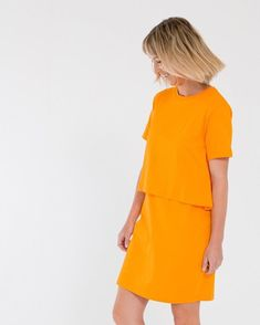 90a9ad68b7649 The Short Sleeve Layers Dress by Bare Bones Proudly 100% GOTS certified  organic cotton made ethically and fairly by their team in Tiruppur India  Also ...