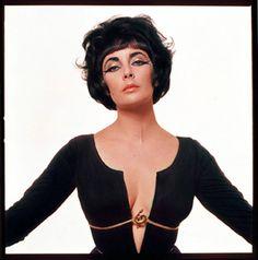 Elizabeth Taylor - photographed by Bert Stern,1963