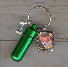 T2,KeyChain Urn,Pet Urn,Feline,Cat,Dog,Cremation Urn