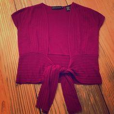 Dana Buchman - Size Small Short Tie Cardigan Dana Buchman Size Small Short Tie Cardigan Dana Buchman Sweaters Cardigans
