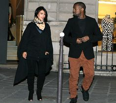 Kim Kardashian and Kanye West celebrate their pregnancy with a babymoon in Paris