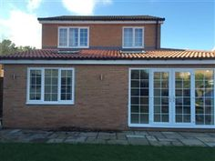 Wrap around extension with garage & full front canopy. | CM Projects