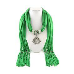 Jemis Women' s Peacock Alloy Pendant Jewelry Scarf 70*16 Inch Green Jemis http://www.amazon.com/dp/B00Q1P7ARE/ref=cm_sw_r_pi_dp_4Zp6vb0HB6284