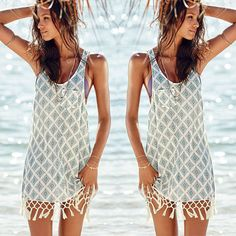 61d3406bc95 Sexy Women Summer Holiday Casual Boho Beach Dress Cocktail Evening Party  Dresses on Luulla Casual Dresses