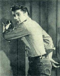 Elvis screen test in late march 1956.