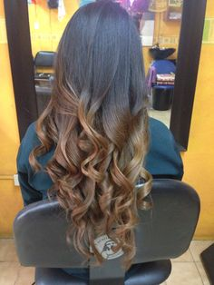 Long Hair. California Hairstyle. Cabello Largo. Mechas Californianas. Beautiful Girl.