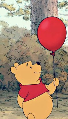 Beautiful Wallpaper Ideas Cartoon Disney Winnie The Pooh For Your Iphone - Holiday Everyday Cartoon Wallpaper Iphone, Disney Phone Wallpaper, Iphone Background Wallpaper, Cute Cartoon Wallpapers, Aesthetic Iphone Wallpaper, Iphone Wallpapers, Red Wallpaper, Disney Phone Backgrounds, Wallpaper Wallpapers