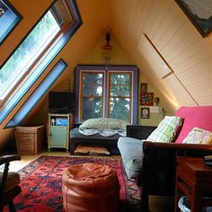 Small Space, Big Dreams Home Awards: One-Room Wonders Finalists - Sunset    Adorable loft is Slide #2   Tiny Homes