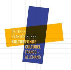 Franco-German Cultural Fund - Brand Identity by Graphéine , via Behance