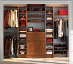 Do it yourself closet shelving/organization