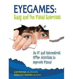 Developing healthy visual-motor abilities is more difficult in the complex stimulus of today's world than ever before. Designed by an OT and an optometrist, here is a book that has practical, playful activities designed to improve visual skills in both adults and children. Repinned by  SOS Inc. Resources  http://pinterest.com/sostherapy.