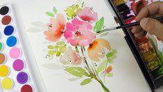 DIY Painting : Simple Flower Clipart