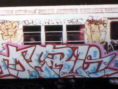 dero know nyc train graffiti - Google Search