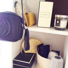 #closet #inmycloset #gucci #discobag #guccidisco #soho #jomalone #bymalenebirger #malenebirger #fashion #itpieces