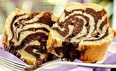 Receita de bolo mesclado para a fase cruzeiro PL dukan.