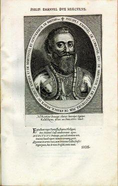 Philipp Emmanuel von Lothringen, Herzog von Mercoeur (1558-1602), Gouverneur der Bretagne