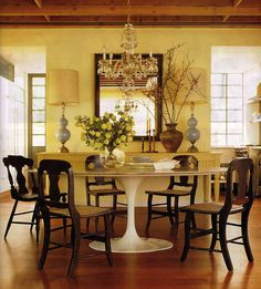 Chairs to Pair with the Tulip Table