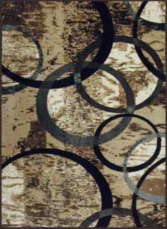 Allure Circle of Life Grey Rug (5' x 8') Circle Of Life, Paint Party, Indoor Rugs, Grey Rugs, Rug Store, Cool Rugs, Home Living Room, Rug Making, Rugs Online