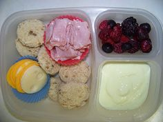 Awesome blog for cooking healthy lunches & making ur own fruit in bottom yogurt ...