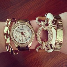 Stacked wrist. Love!!!