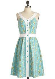 New Dress A Day - DIY - Goodwill - Modcloth Dress